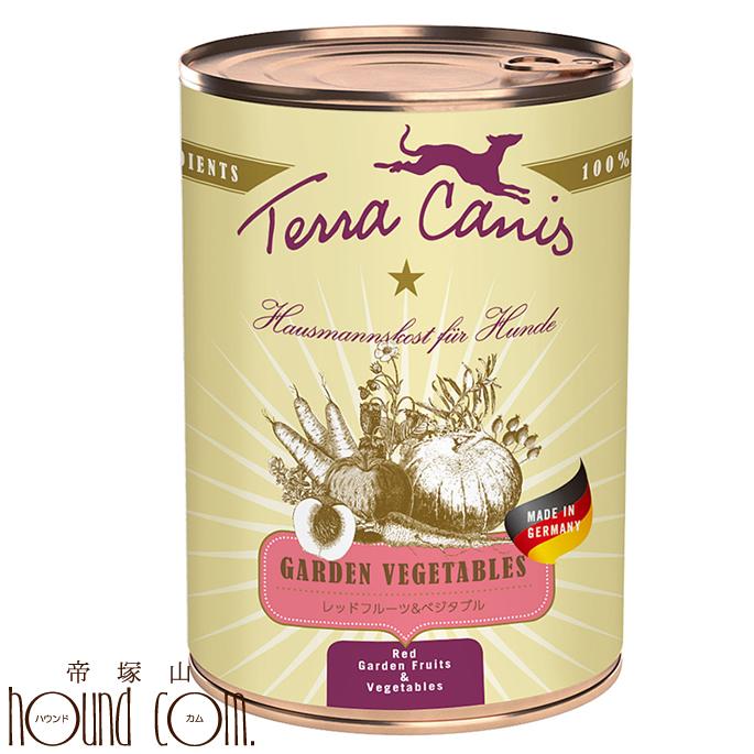 テラカニス ガーデンベジタブル レッドフルーツ&ベジタブル 400g 12缶セット 送料無料 おまけつき トッピング 手作り食 水分補給