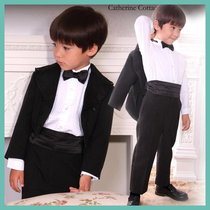 9ec88591f78ea 子どもドレス子供タキシード5点フルセットスーツベビー燕尾服フォーマル男の子男児結婚式