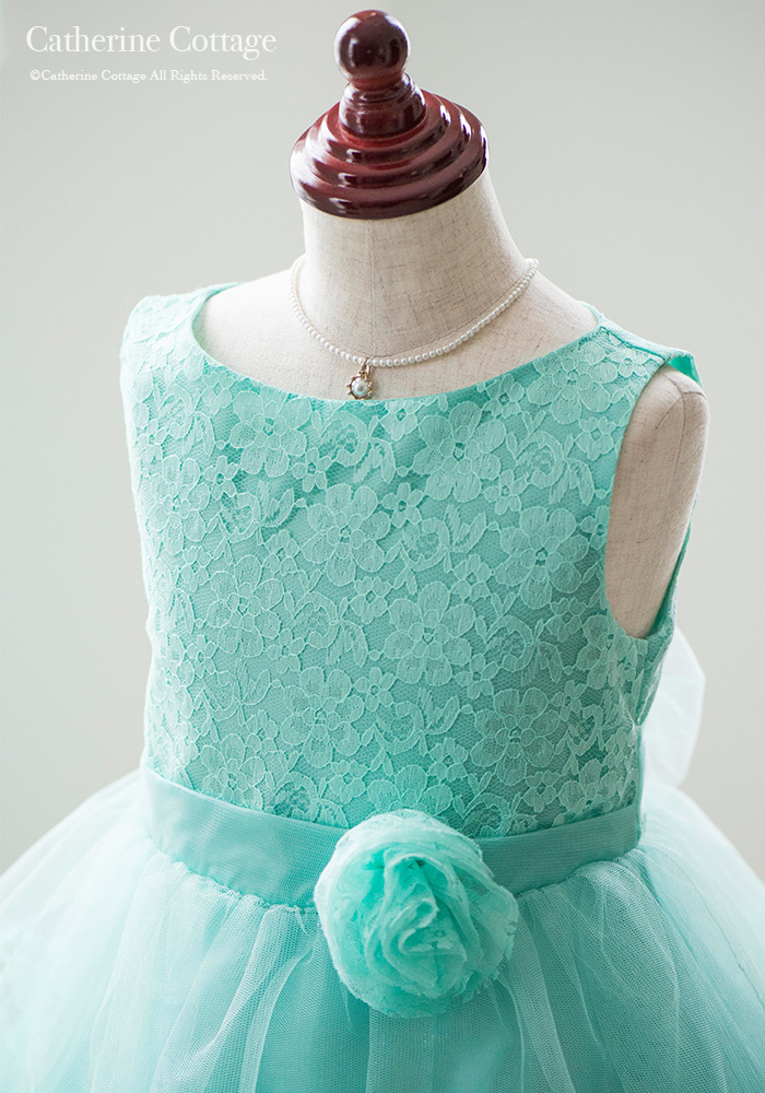 8929a0cb38ae8 楽天市場 パーティードレス 女の子 子供ドレスお花レースと三段チュール ...