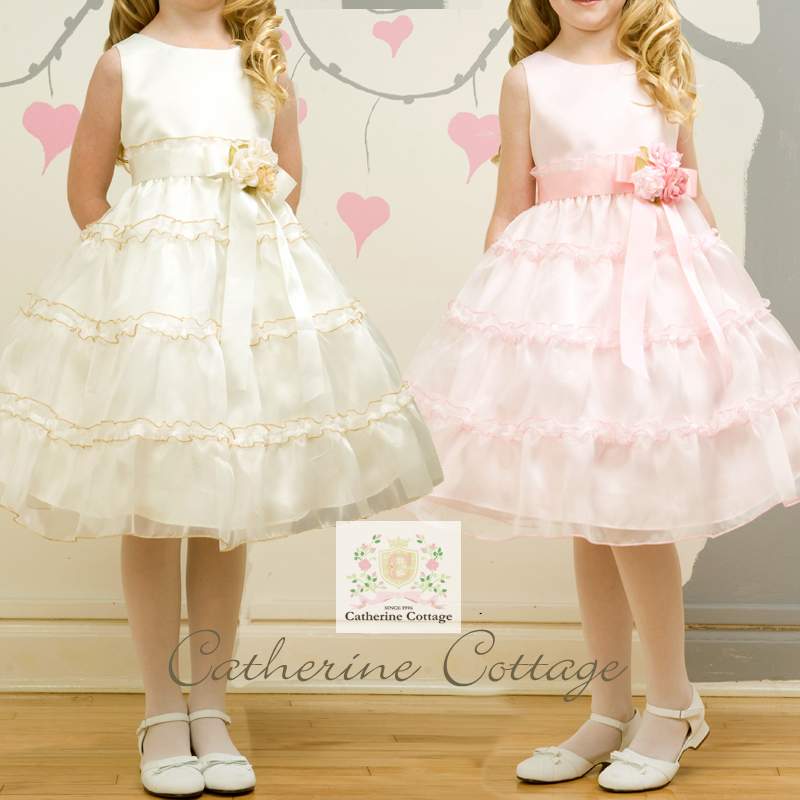 fcc3004d3 Translation and outlet children dress children dresses presentation of  formal オーガンディー frills luxury corsage dress ruffled plenty!