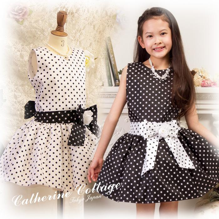 Black dress for kids girls