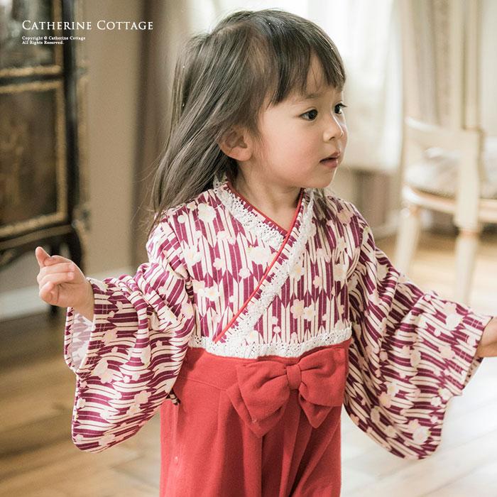 ab99c50b2a78c 楽天市場 ひな祭り 桃の節句 ベビー服 袴ロンパース 女の子 70 80 90 cm ...