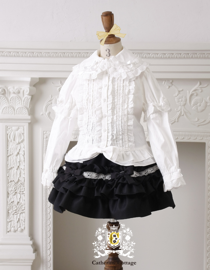 08f803ad0fdf Catherine Cottage  Children dresses ruffle blouse ruffled ribbons ...