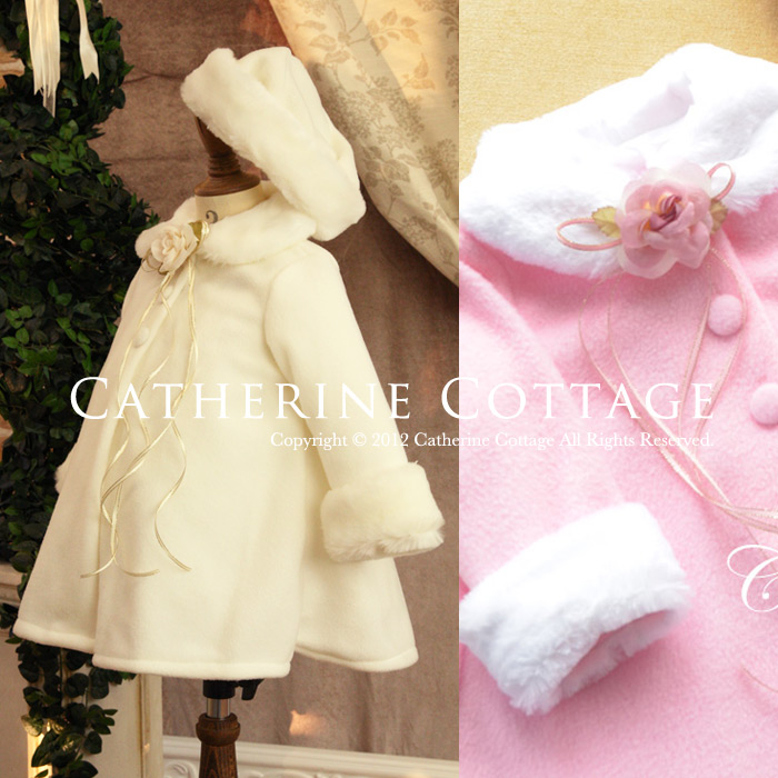 Catherine Cottage | Rakuten Global Market: A child dress baby fur ...