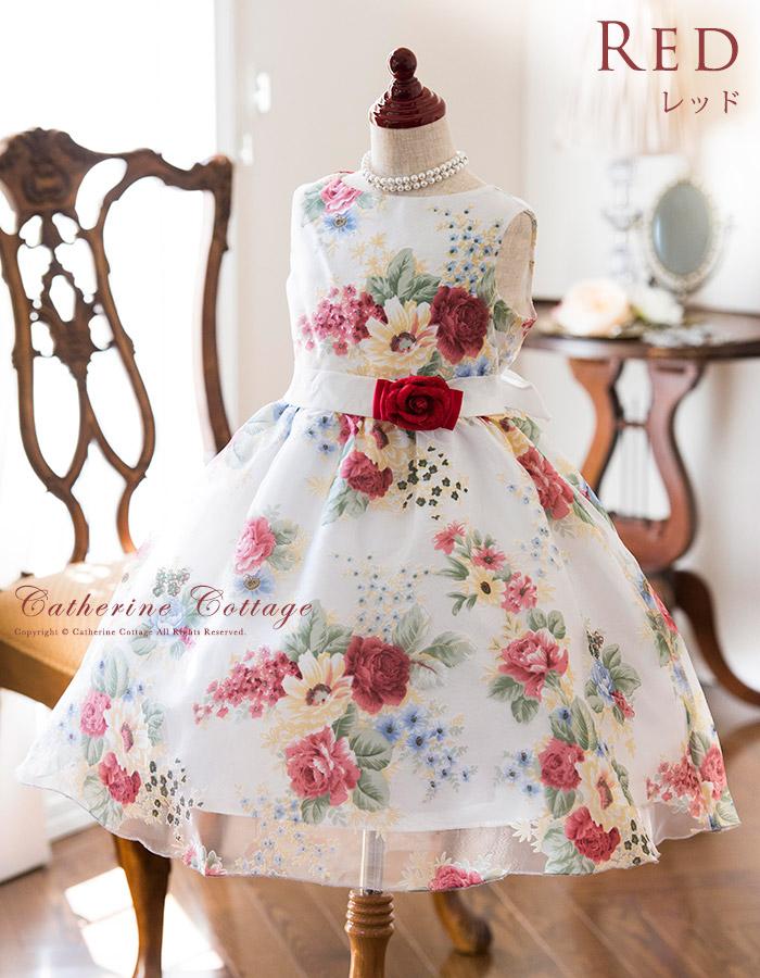 子供ドレス 花柄