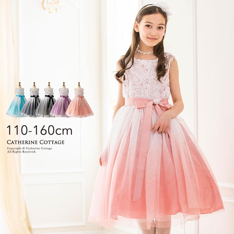 Catherine Cottage Gradation Tulle Skirt Dress Presentation Wedding
