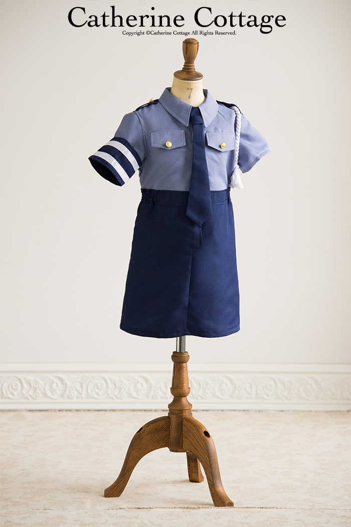 Girls police cosprevan piece & Catherine Cottage | Rakuten Global Market: COPu0027s child Halloween ...