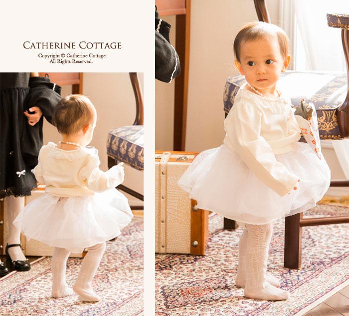 パニエベビードレス結婚式べビー用インナー子供ドレス発表会用幼児サイズ