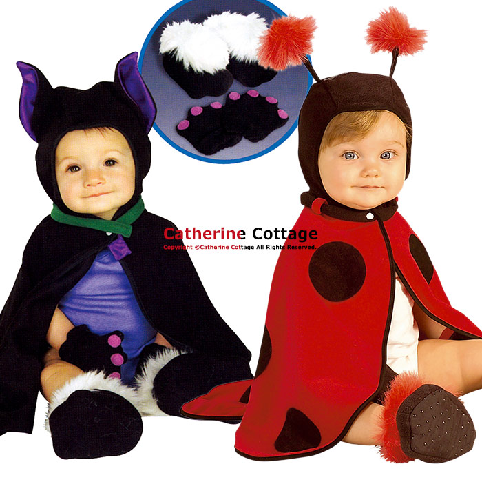 Halloween cosplay baby for lilladybug Lil bat [costume baby boys girls costume costume fancy dress Ladybug bat baby clothes cloak infant children clothing ...  sc 1 st  Rakuten & Catherine Cottage | Rakuten Global Market: Halloween cosplay baby ...