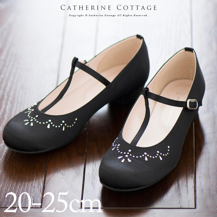 056efe26d T-strap chandelier satin shoes black Lady s kids presentation wedding  ceremony second party four circle party line stone