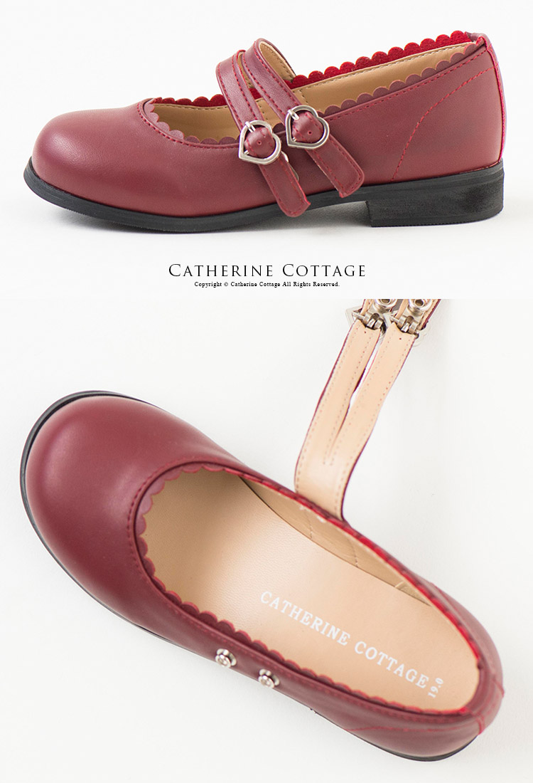 Catherine Cottage Child Cheap Edition Two Belt Shoes Kids Wedding