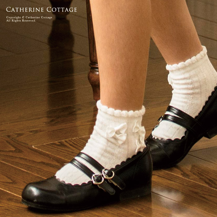Catherine Cottage Child Socks Four Circle Short Socks