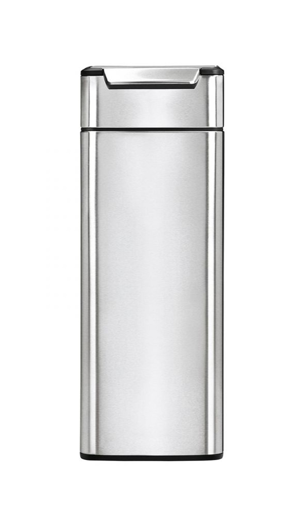 simplehuman シンプルヒューマン CW2016 スリムタッチバーダストボックス 40L ゴミ箱 [メーカー直送のみ、代引き不可]【沖縄・北海道・離島は送料別途必要です】