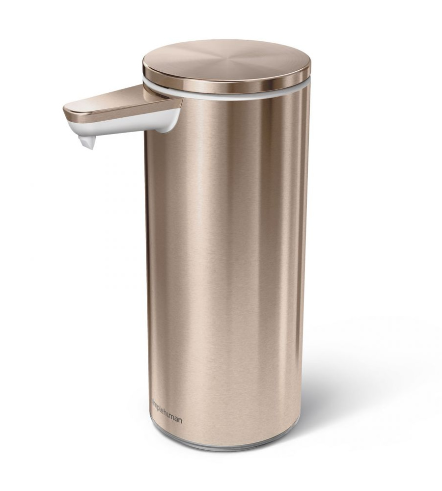 【送料無料】 simplehuman シンプルヒューマン ST1046 センサーポンプソープディスペンサー 266ml ローズゴールド ゴミ箱 [メーカー直送のみ、代引き不可]【沖縄・北海道・離島は送料別途必要です】