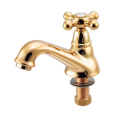 カクダイ 立水栓 ゴールド 受注生産品【722-420-G】[新品] 【沖縄・北海道・離島は送料別途必要です】