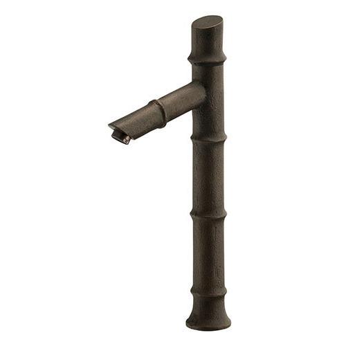 カクダイ KAKUDAI 立水栓(竹) 【716-256-13】 水栓金具・器