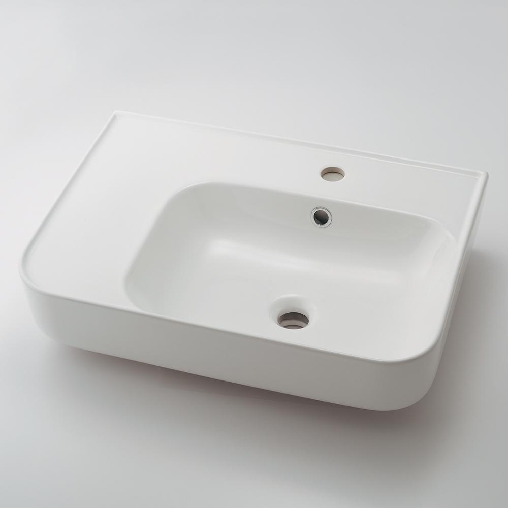 カクダイ KAKUDAI 壁掛洗面器 【#CL-8781AC】 水栓金具・器