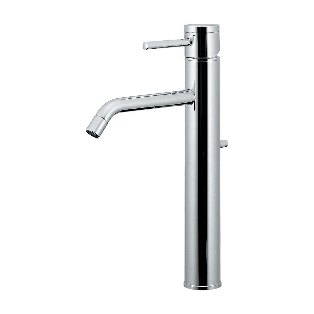 カクダイ KAKUDAI シングルレバー混合栓(トール) 【183-286】 水栓金具・器