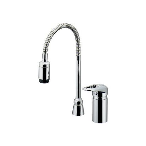 カクダイ KAKUDAI シングルレバー混合栓(シャワーつき) 【185-516K】 水栓金具・器