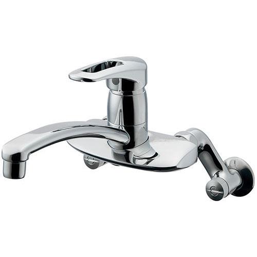 カクダイ KAKUDAI シングルレバー混合栓 【192-128】 水栓金具・器