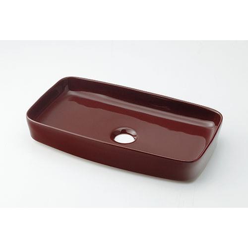 カクダイ KAKUDAI 角型手洗器//ショコラ 【493-073-BR】 水栓金具・器