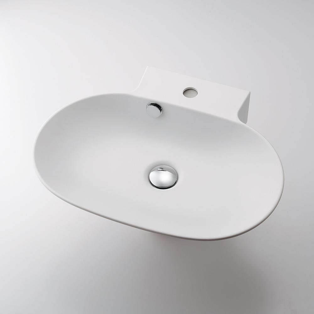 カクダイ KAKUDAI 丸型洗面器 【493-124】 水栓金具・器