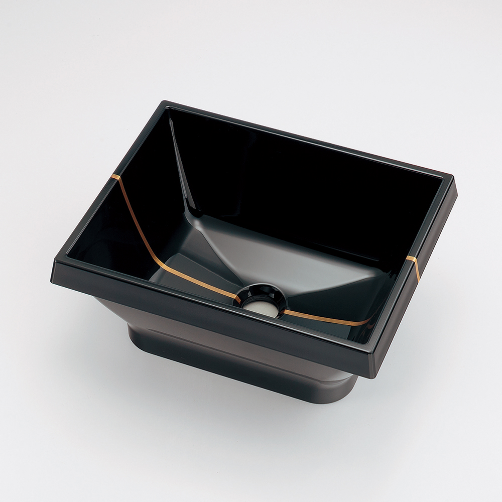 カクダイ KAKUDAI 角型手洗器//小夜 【493-149-D】 水栓金具・器