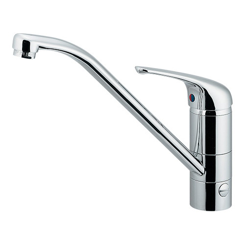 シングルレバー混合栓(分水孔つき) 【117-031】 【配管資材・水道材料】カクダイ