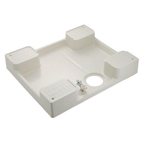 洗濯機用防水パン(水栓つき) 【426-502K】 【配管資材・水道材料】カクダイ