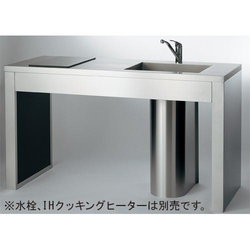 ステンレスフレームキッチン 【457-000-120L】 【配管資材・水道材料】カクダイ