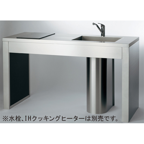 ステンレスフレームキッチン 【457-000-180L】 【配管資材・水道材料】カクダイ