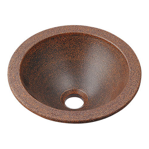 丸型手洗器 窯肌 493-013-M 配管資材 カクダイ オンラインショッピング 水道材料 人気の製品