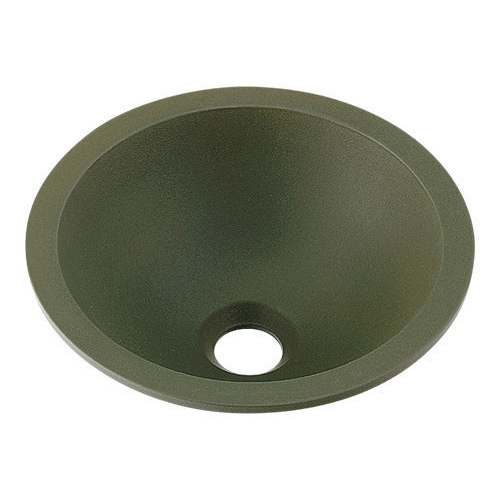 丸型手洗器//松葉 【493-013-YG】 【配管資材・水道材料】カクダイ