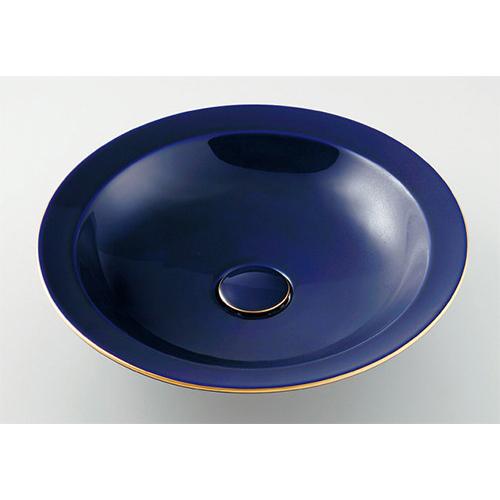 丸型洗面器//ラピス 【493-055-B】 【配管資材・水道材料】カクダイ