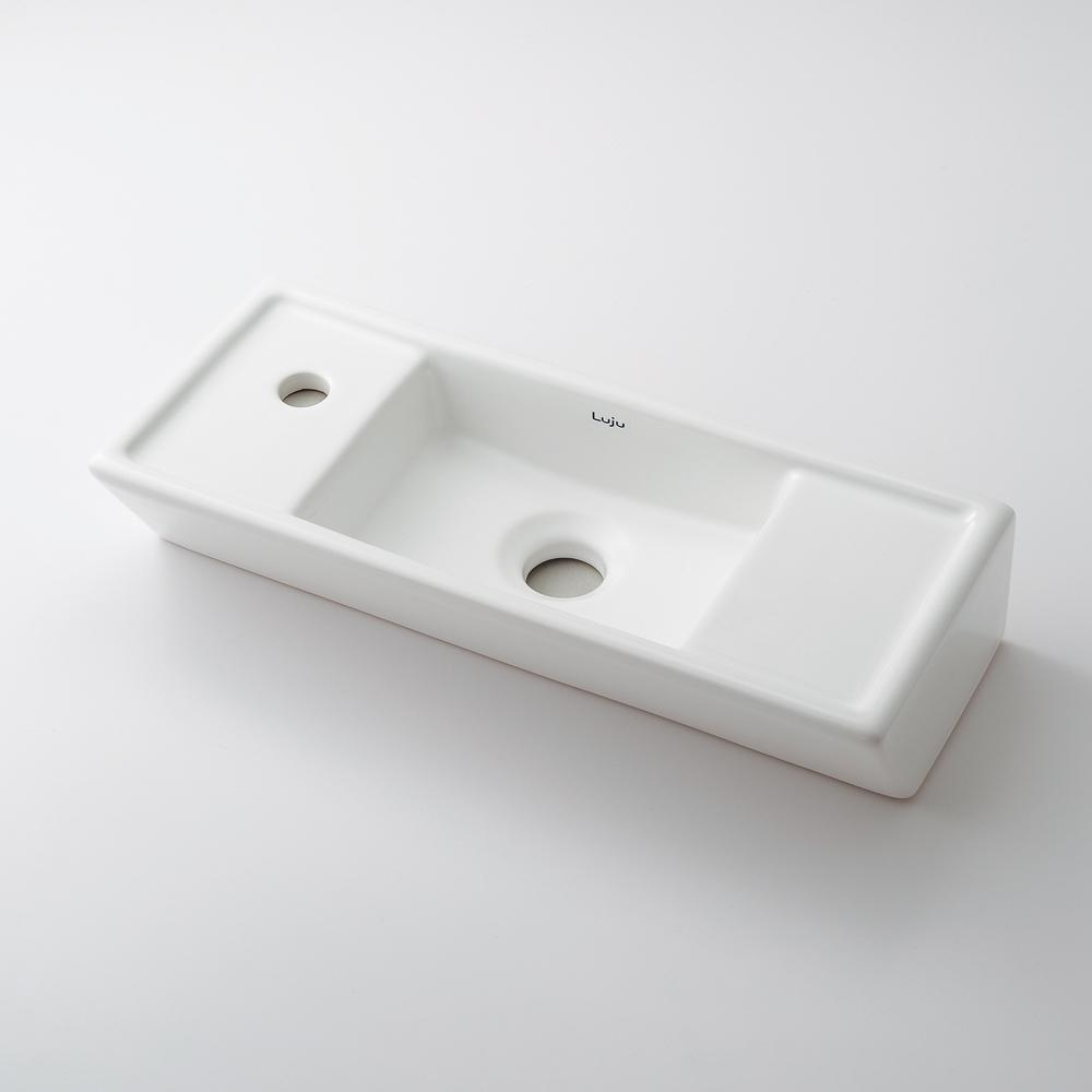 壁掛手洗器 【493-067】 【配管資材・水道材料】カクダイ