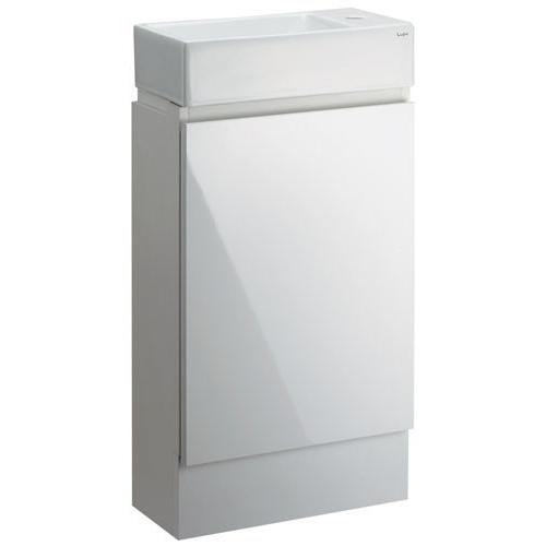 角型手洗器(キャビネットつき) 【493-069】 【配管資材・水道材料】カクダイ