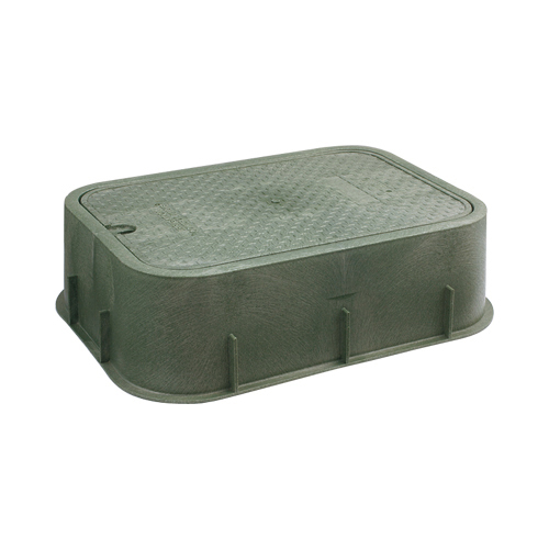 水力発電自動弁用ボックス 【504-010】 【配管資材・水道材料】カクダイ