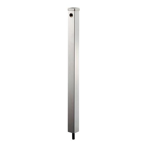 ステンレス水栓柱//60角 【624-121】 【配管資材・水道材料】カクダイ