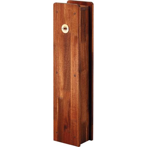 角水栓柱用化粧カバー(木) 【624-137】 【配管資材・水道材料】カクダイ