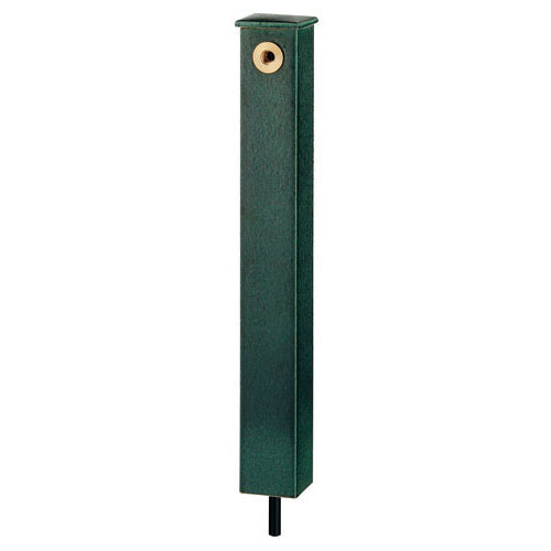 庭園水栓柱//濃茶 【624-193】 【配管資材・水道材料】カクダイ