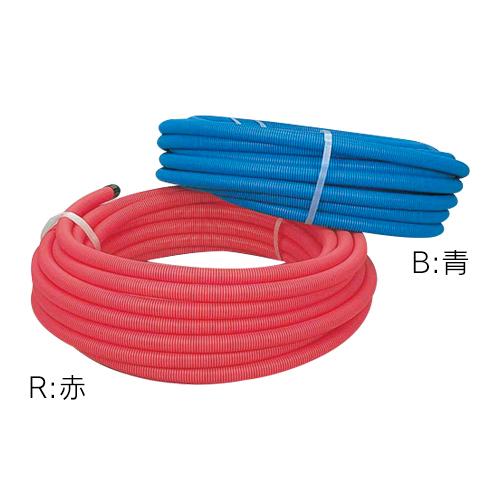 サヤ管(赤) 36 【672-155-30R】 【配管資材・水道材料】カクダイ