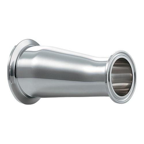 ヘルール偏芯レデューサー//2.5S×1.5S 【691-09-EXC】 【配管資材・水道材料】カクダイ