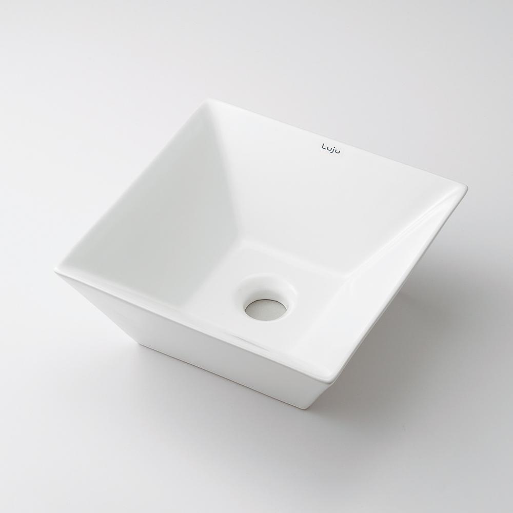 角型手洗器 【493-082】 【配管資材・水道材料】カクダイ