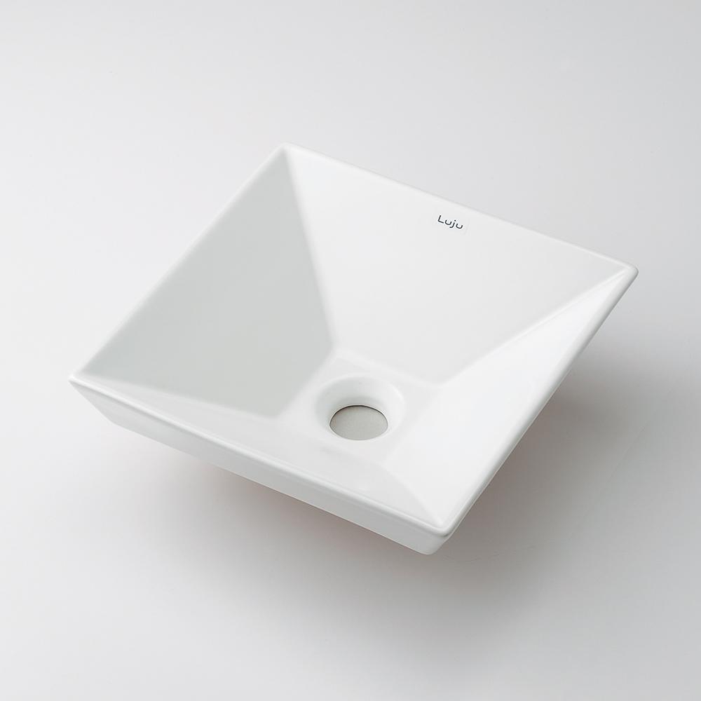 角型手洗器 【493-085】 【配管資材・水道材料】カクダイ