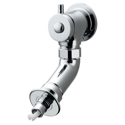 洗濯機用水栓(ストッパーつき) 【721-608K-13】 【配管資材・水道材料】カクダイ