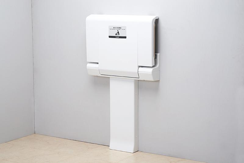 【せしゅるは全品送料無料】Combi 横型おむつ交換台 【OK21F】 トイレ設備 コンビウィズ株式会社(BS-F42の後継機種) 赤ちゃん おむつ交換 【メーカー直送のみ・代引き不可】【F】
