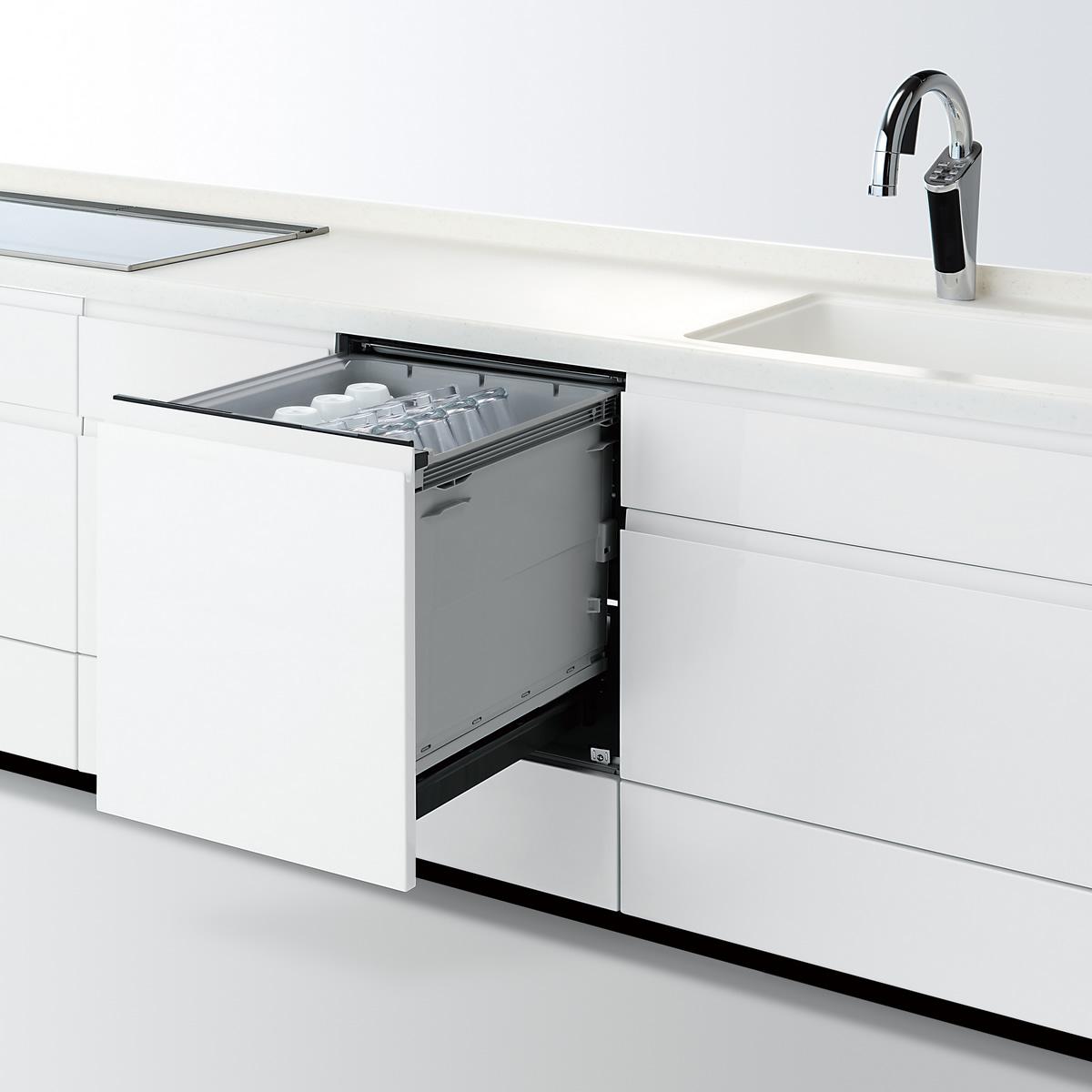 【NP-45KD8W】 パナソニック ビルトイン食器洗い乾燥機(食洗機) K8シリーズ 幅45cm ディープタイプ ドアフル面材型