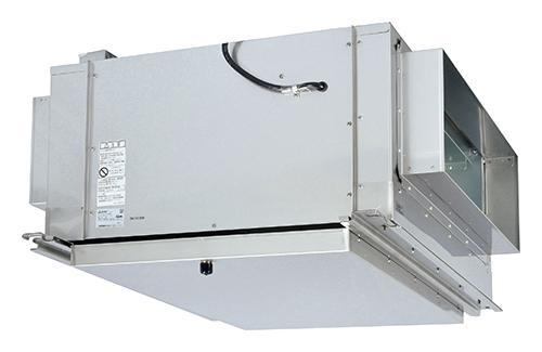 三菱 換気扇 産業用換気送風機 熱交換形換気扇(ロスナイ) 【BFS-450TX】厨房用ストレートシロッコファン三相200V【BFS450TX】 【セルフリノベーション】