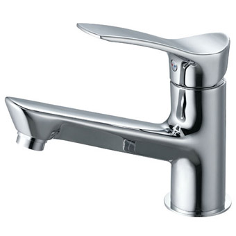 三栄水栓 シングルワンホール洗面混合栓【K4712NJV-13】【K4712NJV13】[新品] [SANEI] 水栓【セルフリノベーション】