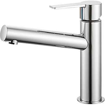 三栄水栓 シングルワンホール洗面混合栓【K4750NV-13】【K4750NV13】[新品] [SANEI] 水栓